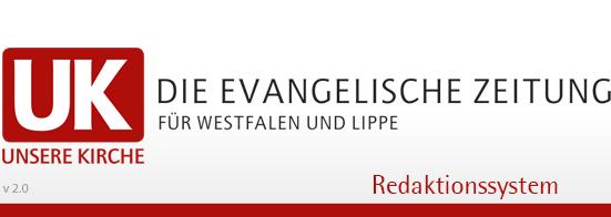 Unsere Kirche - Redaktionssystem f�r die Gemeindenachrichten